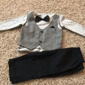 Other - 6 month shirt/vest with matching pants